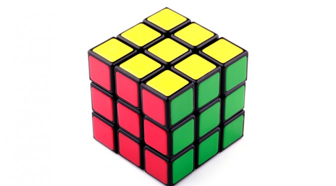 Emö Rubik invented the Rubik's Cube in 1974 and it became the world's most popular puzzle. The cube consists of 26 cubelets that move and turn when the faces are twisted. This cube is in a solved position when each face is a uniform color. The goal is to take a randomized cube though a series of face twists to transform it into the solved position. Learning to solve a Rubik's Cube can teach us something about learning to program.