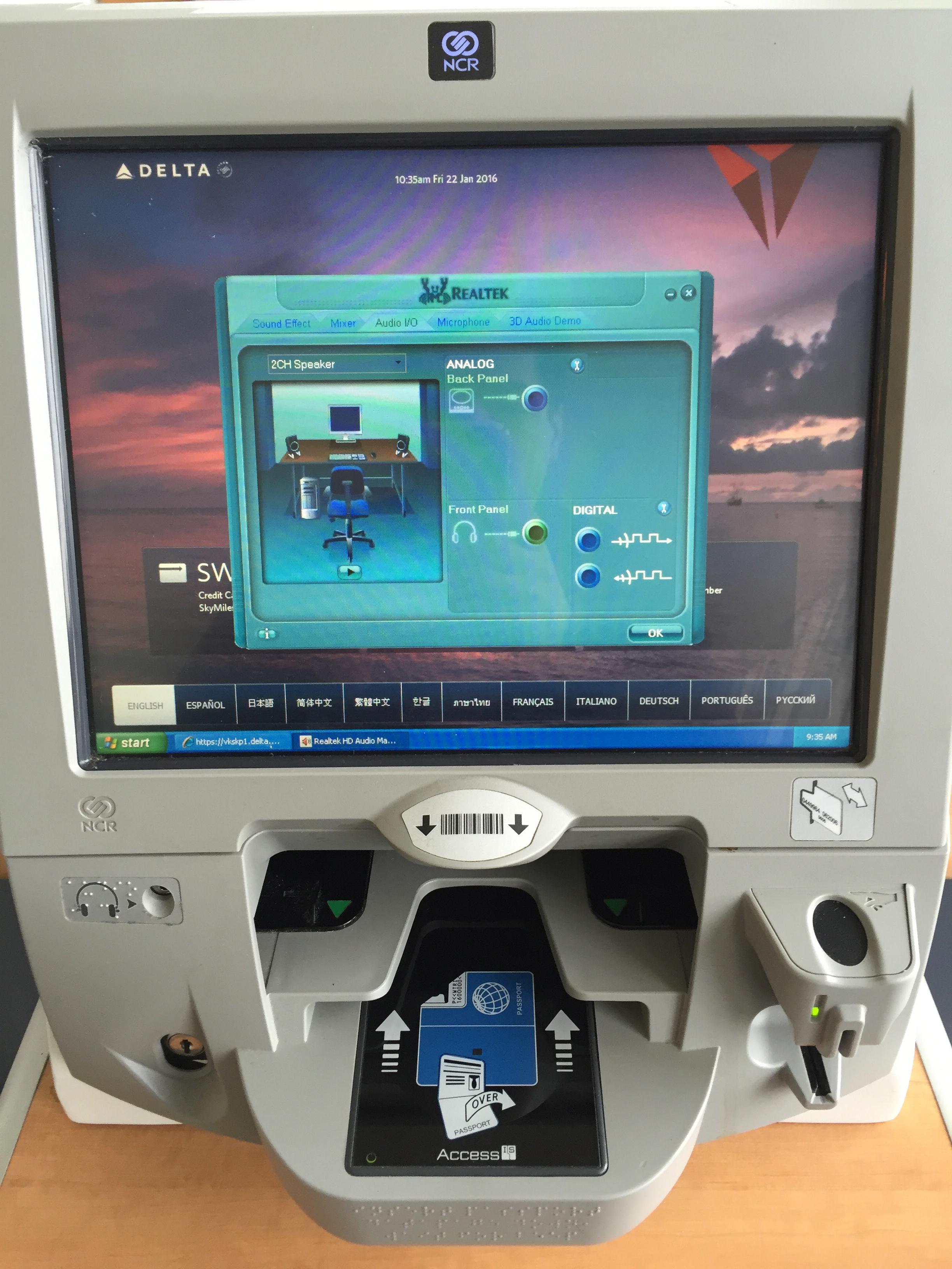 Airport Kiosk Windows Blog Ubiquity